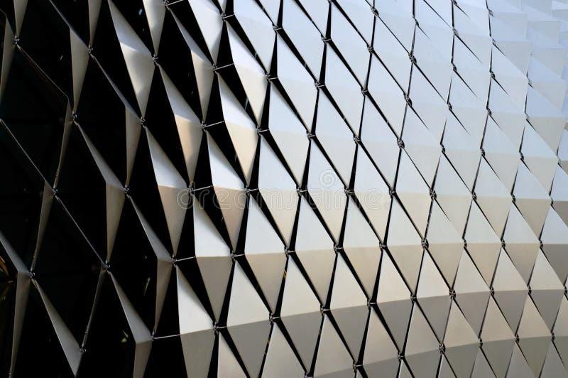 Le diamant métallique forme le fond photos libres de droits