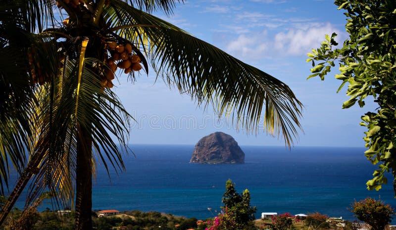 Le Diamant, Martinica imagem de stock royalty free