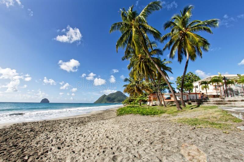 Le Diamant - Martinique FWI royaltyfri fotografi