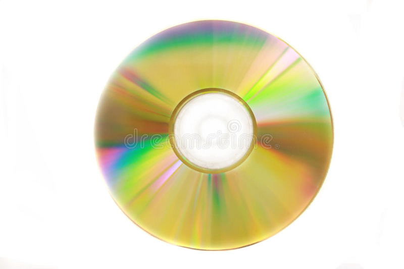 le disque cd libèrent le virus images stock