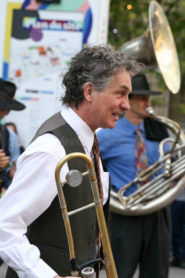 """Le Dixieband† in Montreal Jazz Festival, 2017 stock foto's"