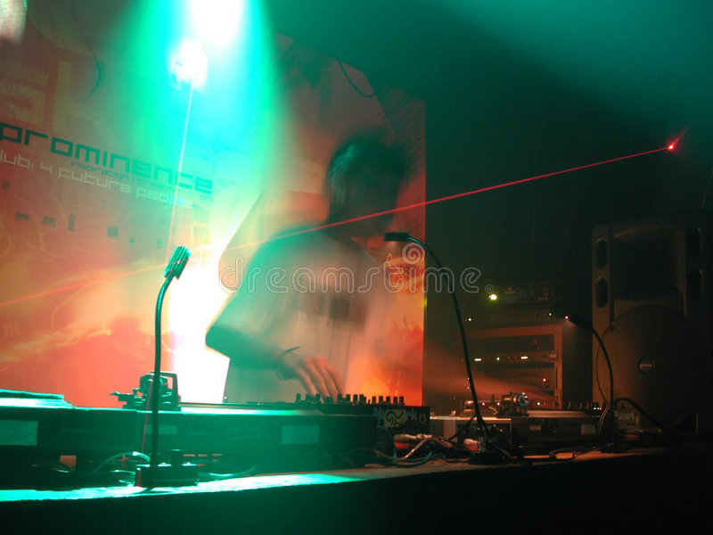Le DJ 02 Image libre de droits