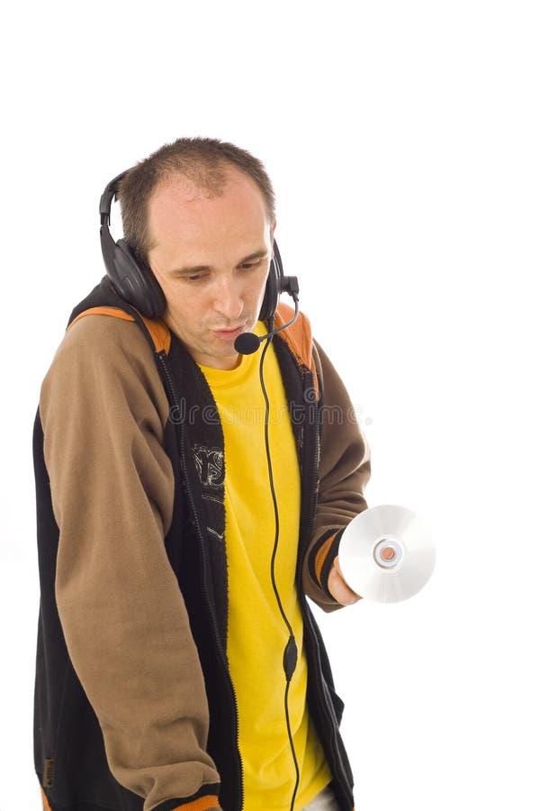 Le DJ 1 photographie stock libre de droits