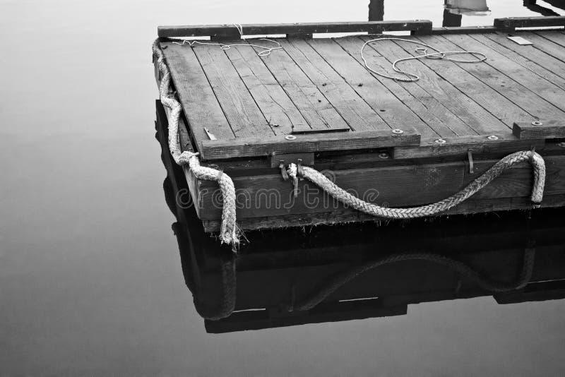 Le dock photo stock