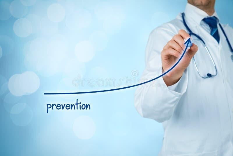 Le docteur améliorent la prévention image libre de droits
