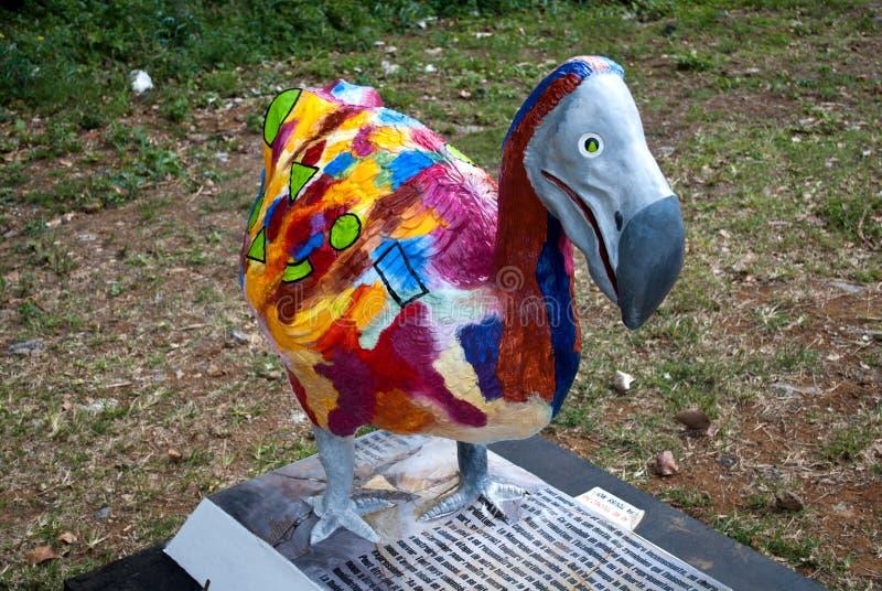 Le Dodo coloré photographie stock