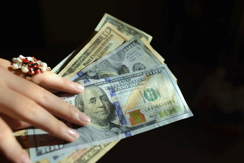 Le dollar image libre de droits