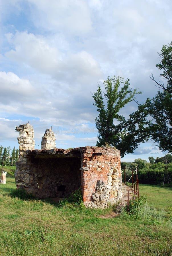 Le domaine du von-Derwis de baron dans Kiritsakh Sanatorium de nos jours tuberculeux Région de Riazan photos stock