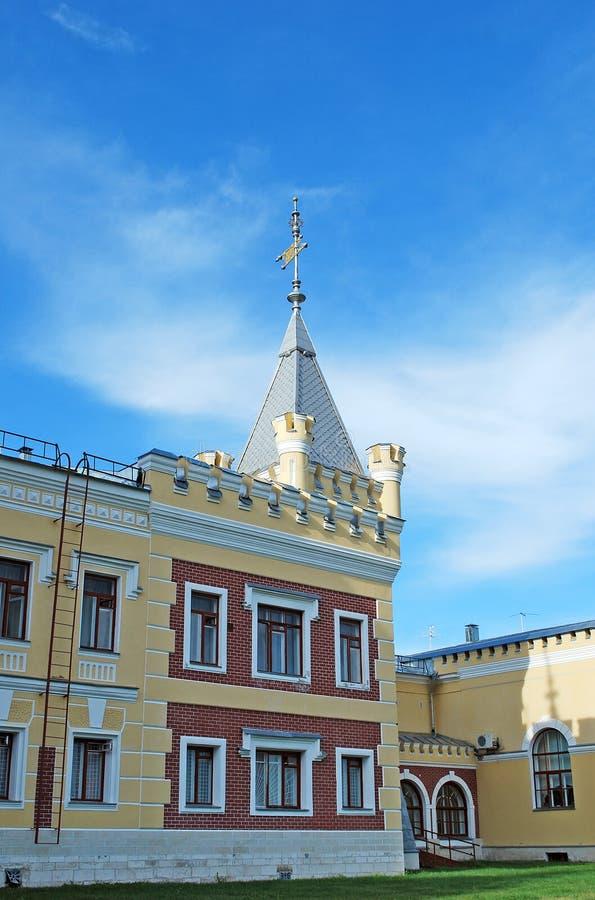 Le domaine du von-Derwis de baron dans Kiritsakh Sanatorium de nos jours tuberculeux Région de Riazan photo stock