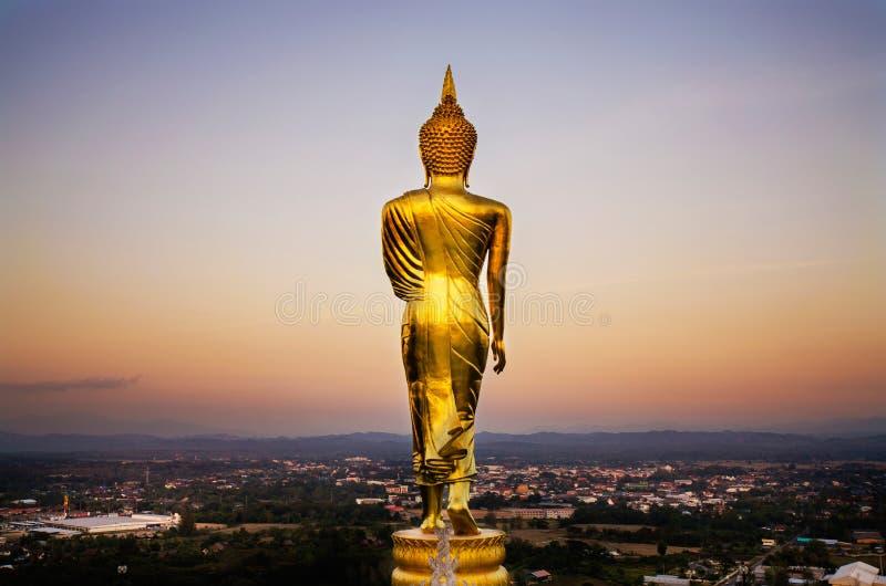 Le dos du Bouddha photographie stock libre de droits