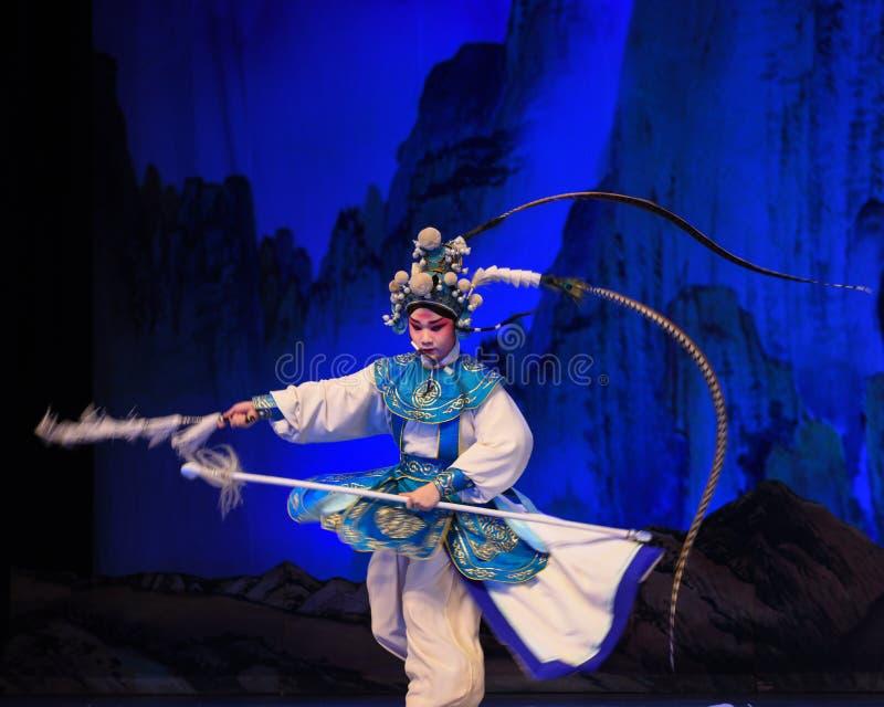 """Le dos a poussé des généraux de femmes de Pékin Opera"""" de  de € de Yang Familyâ image libre de droits"""