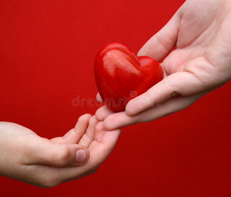 Le Doy Mi Corazón Imagenes de archivo