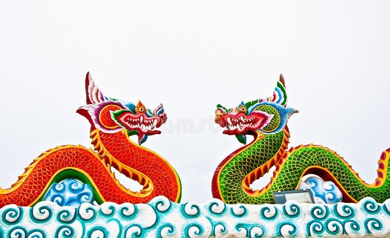 Le dragon photographie stock libre de droits