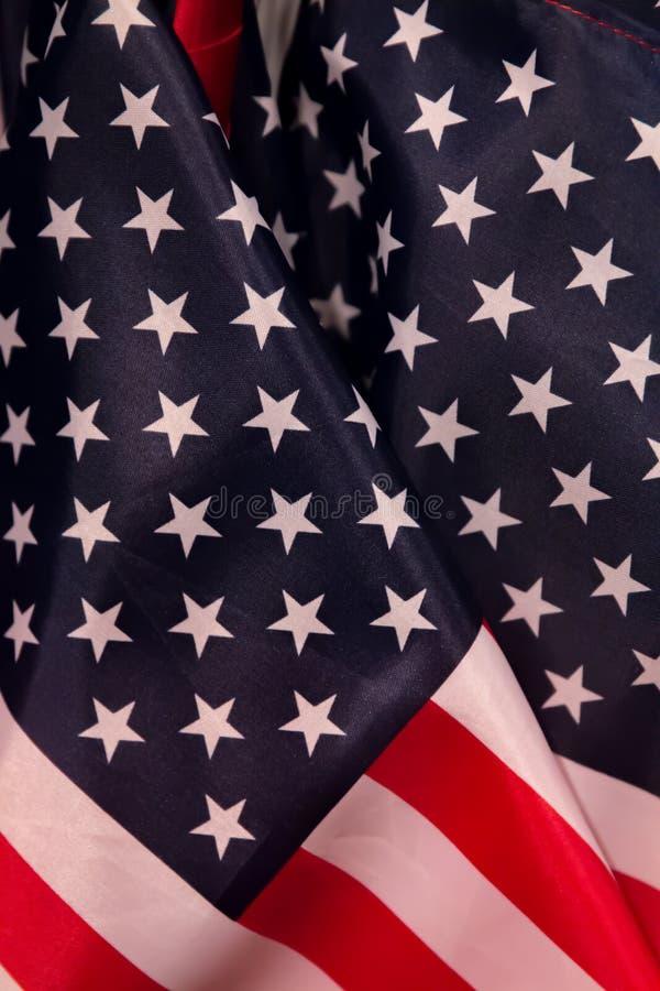 Le drapeau des Etats-Unis d'Amérique photographie stock