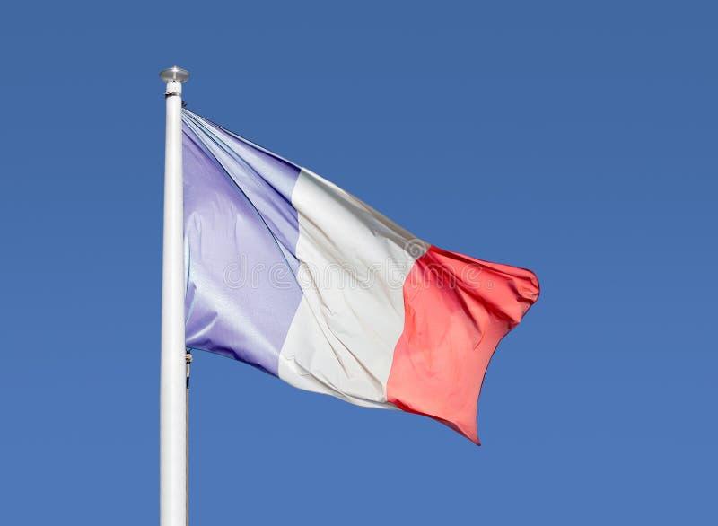 Le drapeau des Frances image stock