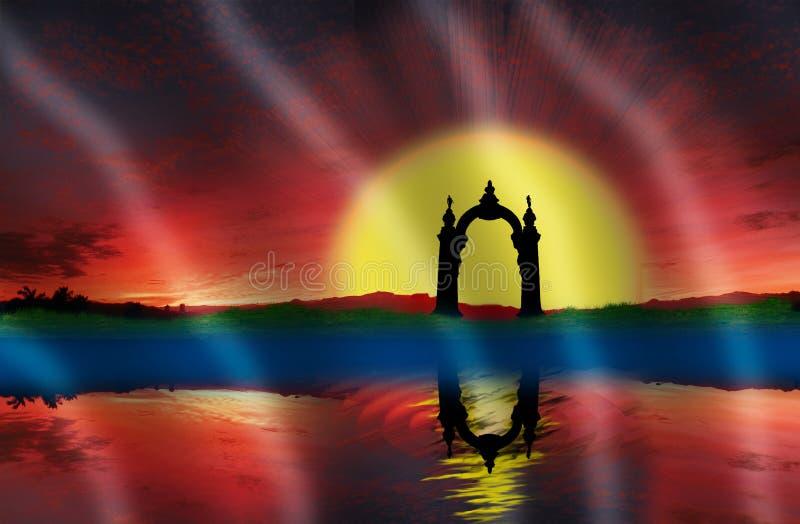 Le drapeau 2 du ` s d'état de Carabobo images libres de droits