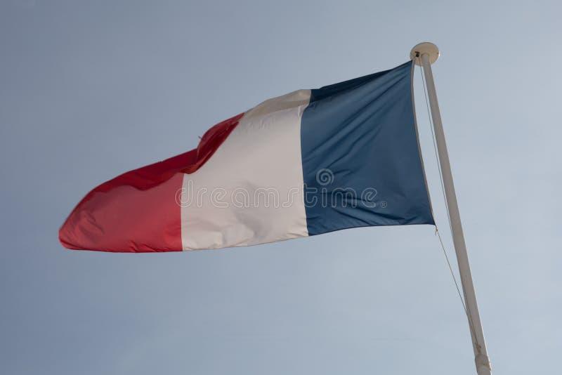 Le drapeau français photos stock