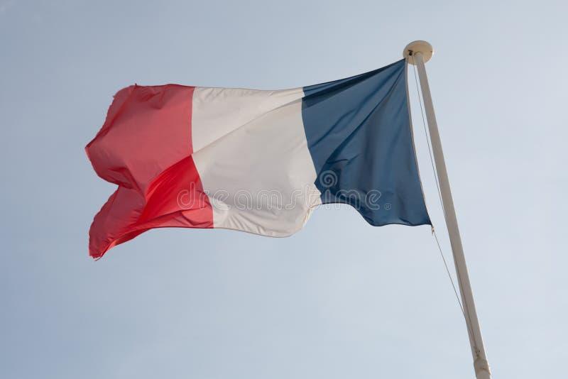 Le drapeau français photos libres de droits