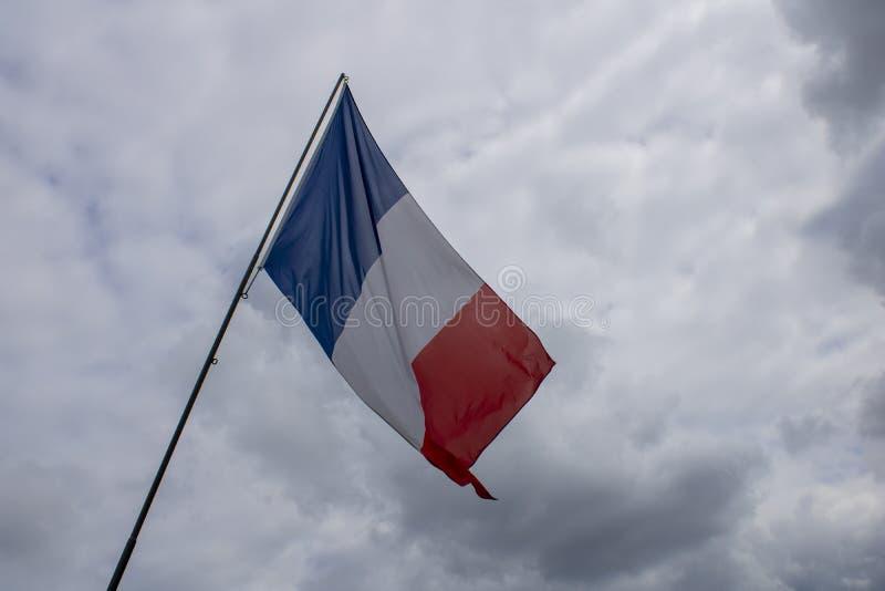 Le drapeau fran?ais images stock