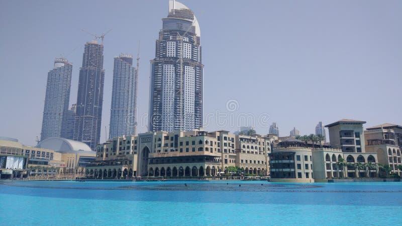 Le Dubaï du centre photo libre de droits