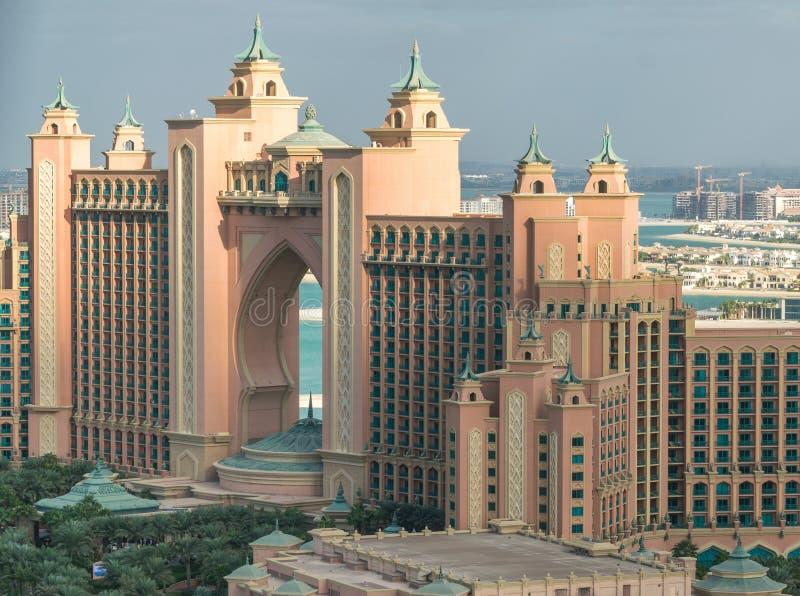 LE DUBAÏ, EAU - 23 NOVEMBRE 2016 : Hôtel de l'Atlantide à Dubaï, EAU À images stock