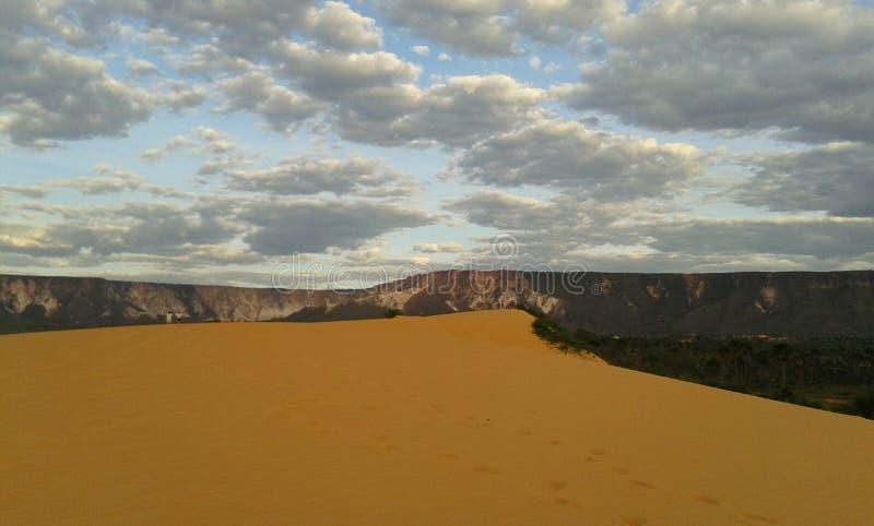 Le dune di Jalapao, Tocantins, Brasile fotografia stock