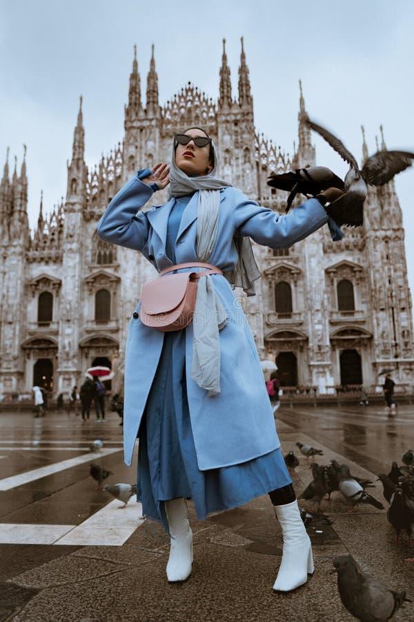 Le Duomo lizenzfreie stockfotos