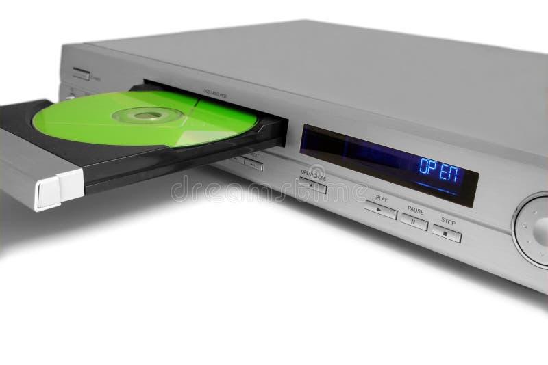 Le DVD-joueur photographie stock libre de droits
