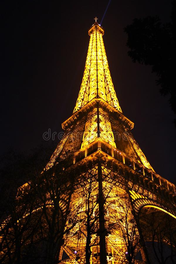 Le Eiffel Tower royalty free stock photography