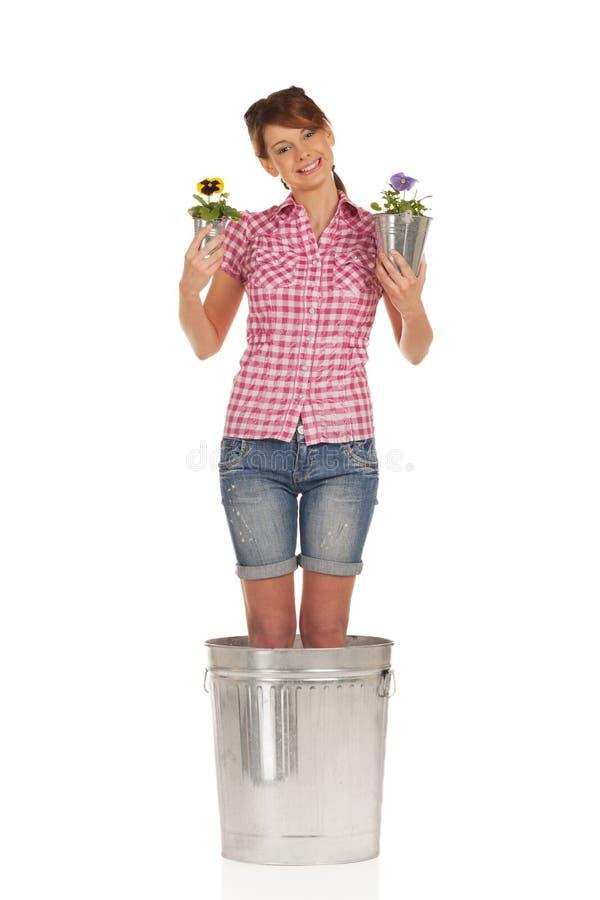 le för blomma royaltyfri fotografi