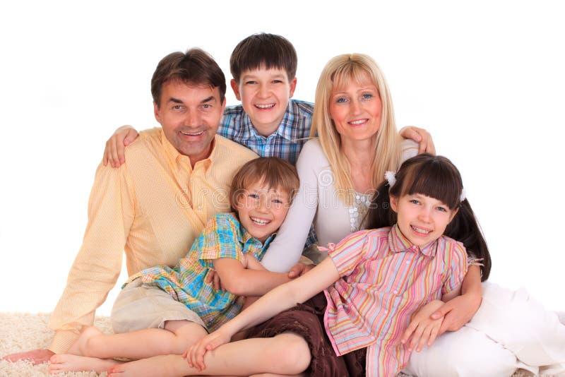 le för familj royaltyfria bilder