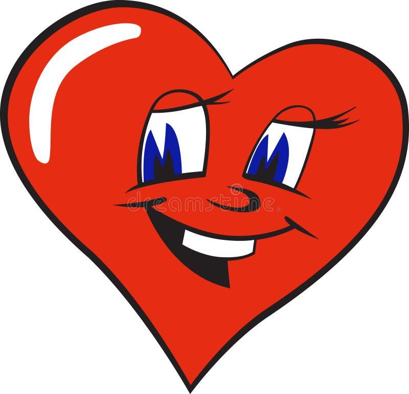 le för hjärta royaltyfri illustrationer