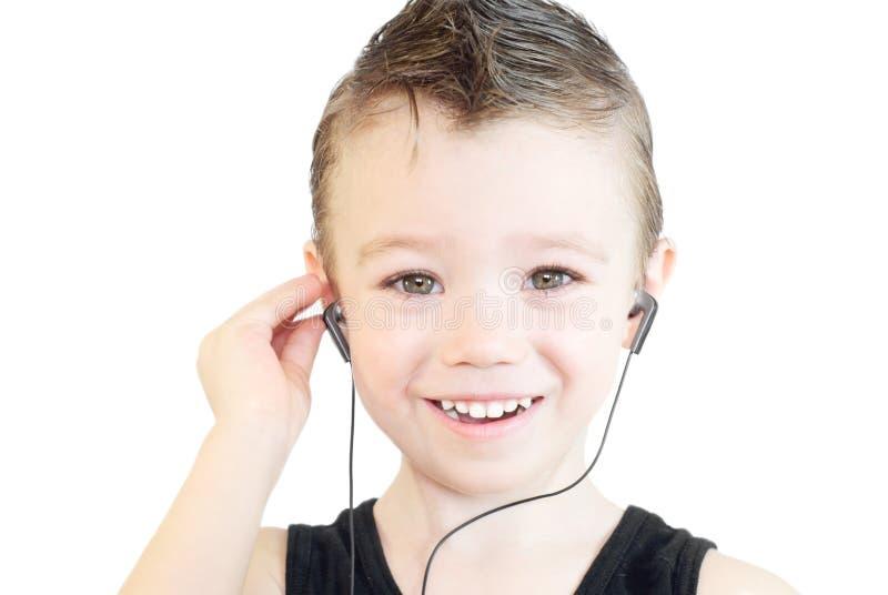 le för pojke royaltyfri bild