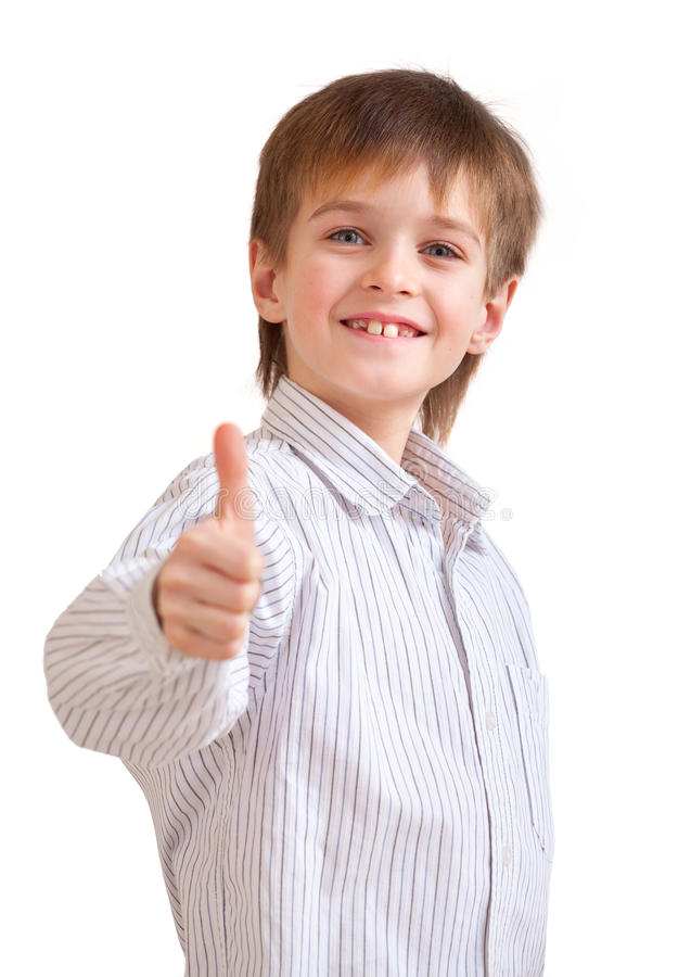 le för stående för pojke gulligt litet arkivfoto