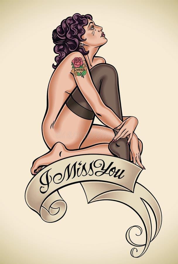 Le falto - tatuaje libre illustration