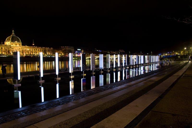 le festival 2008 allume Lyon image stock