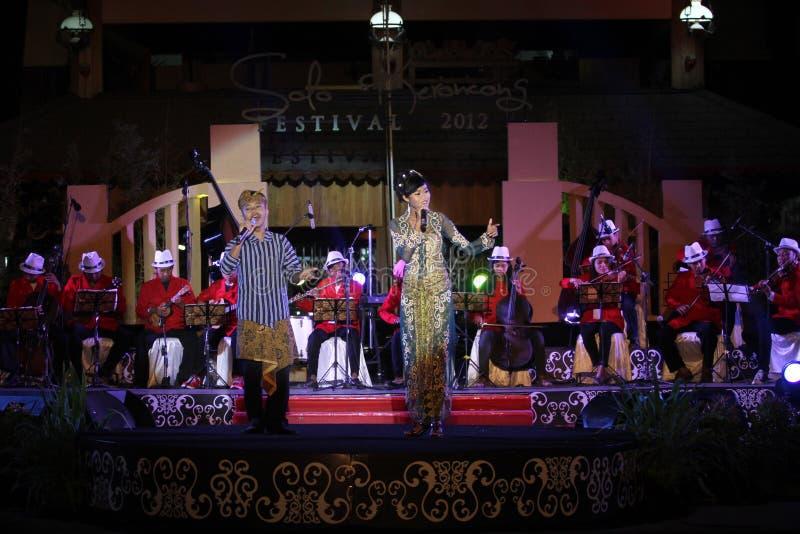 Le festival de musique Keroncong photographie stock
