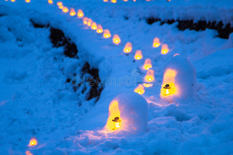 Le festival de Yunishigawa Kamakura images stock