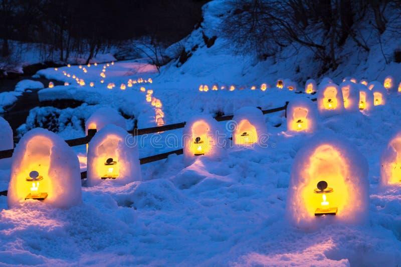 Le festival de Yunishigawa Kamakura photo stock
