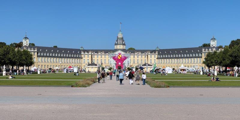 Le festival du canal radio SWR4 à Karlsruhe, Allemagne photographie stock libre de droits