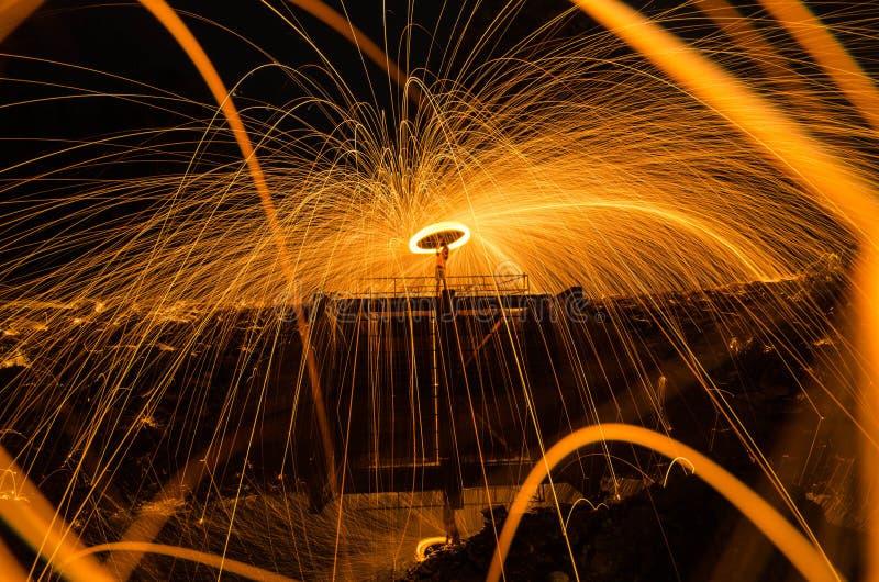 Le feu étonnant photo stock