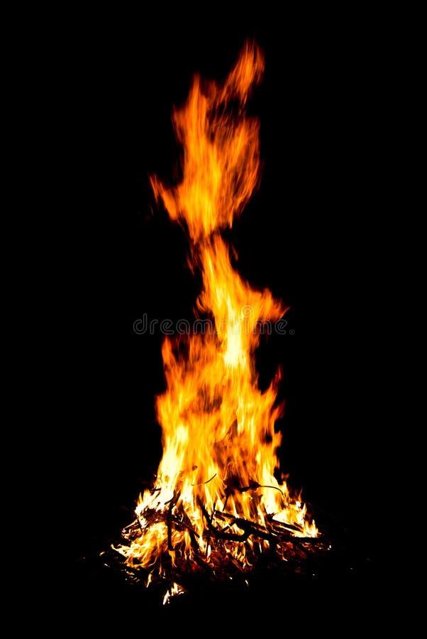 Le feu photographie stock