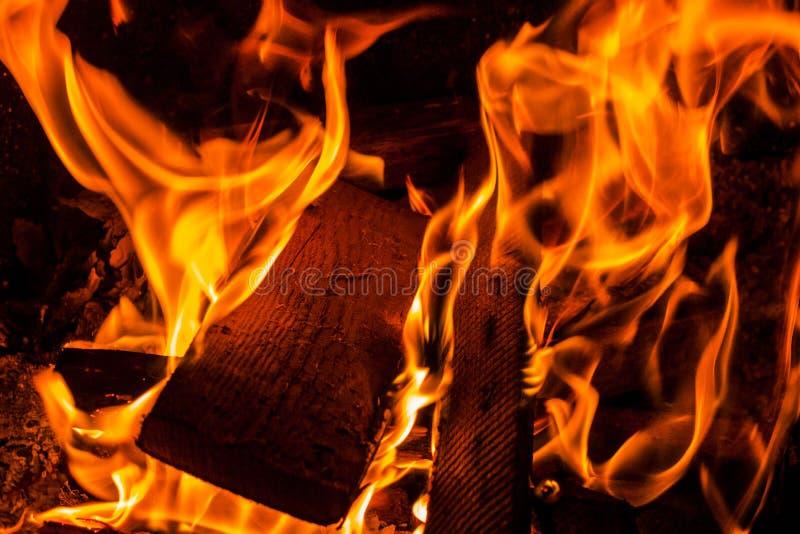 Le feu, photographie stock