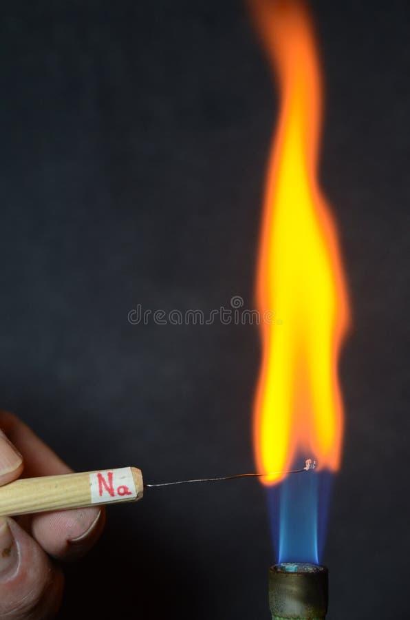 Le feu coloré photographie stock libre de droits