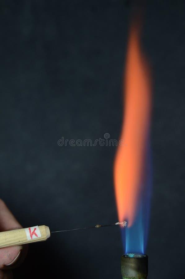 Le feu coloré photo stock