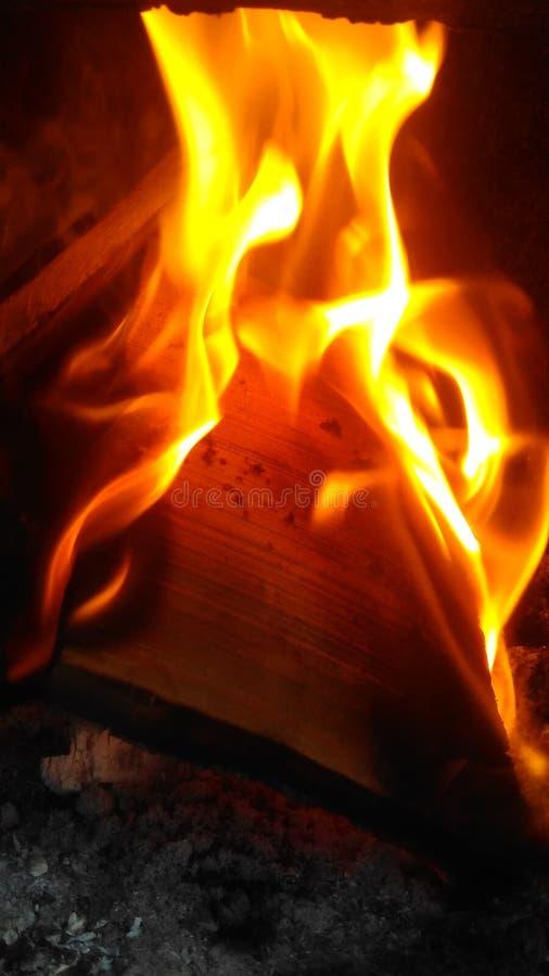 Le feu d'os photos libres de droits