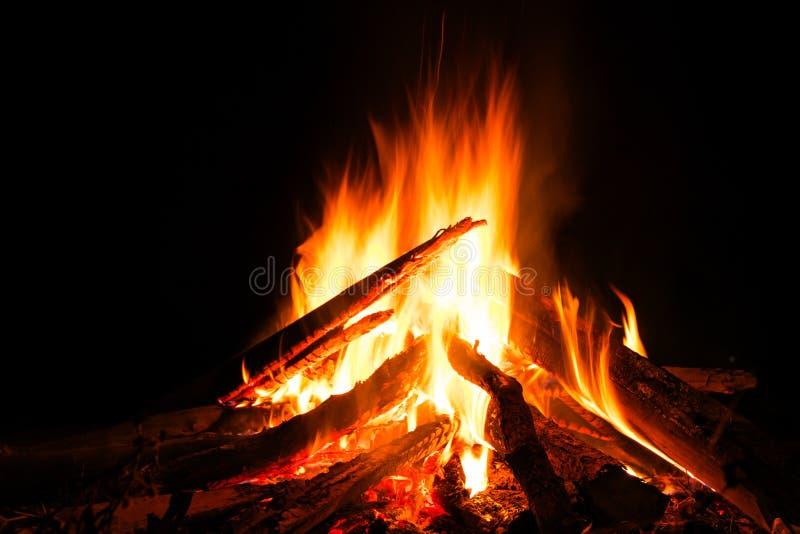 Le feu de camp photographie stock