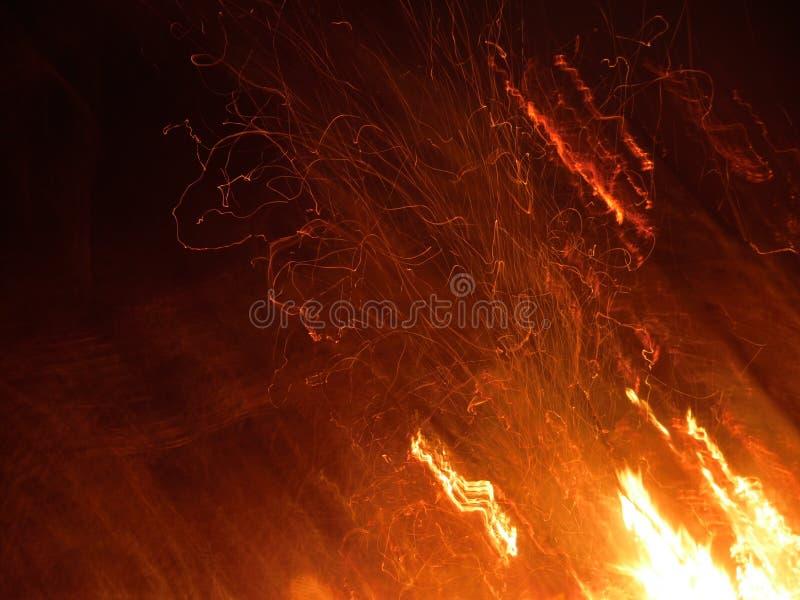 Le feu du feu du feu images libres de droits