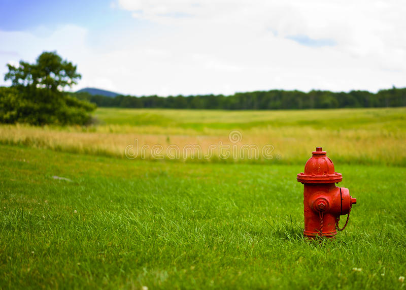 Le feu Hidrant photo libre de droits