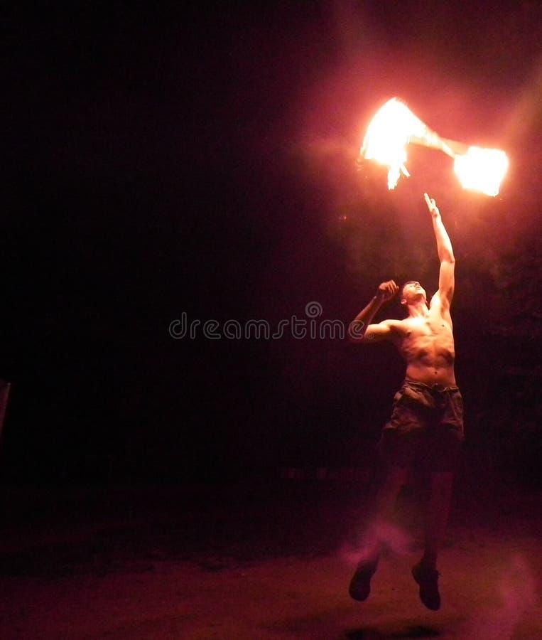 Le feu pur photo libre de droits